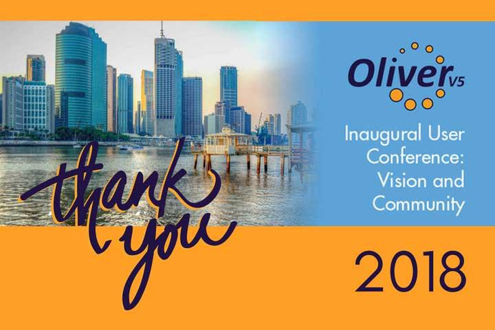 Inaugural Oliver v5 User Conference - a fantastic day!