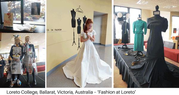 Library display - fashion
