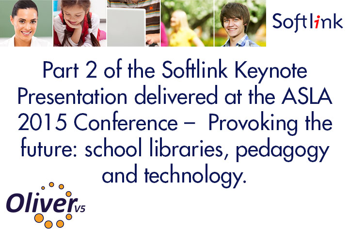 The Softlink Australian School Library Survey: Trends and Future Directions Presentation Part 2