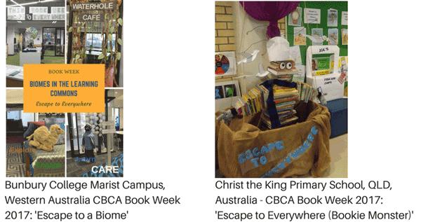Book week library display