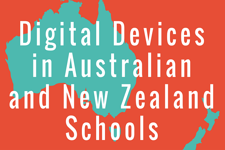 Digital Devices in Australian and New Zealand Schools Infographic