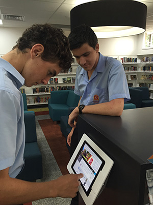 Oakhill College library