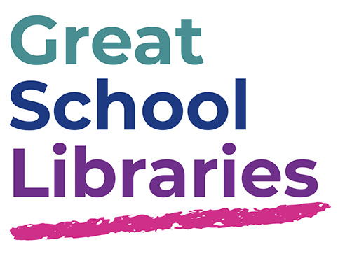 Great School Libraries campaign logo.