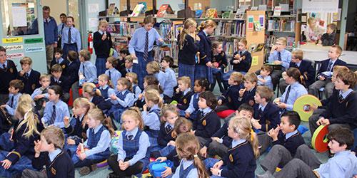 Junior school library