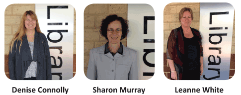 Landsdale Primary School library staff