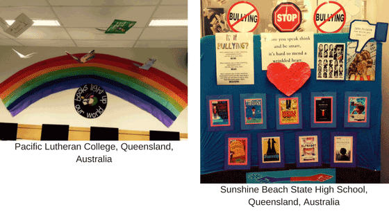 Library love displays 1