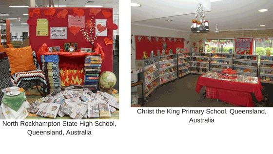 Library love displays 3