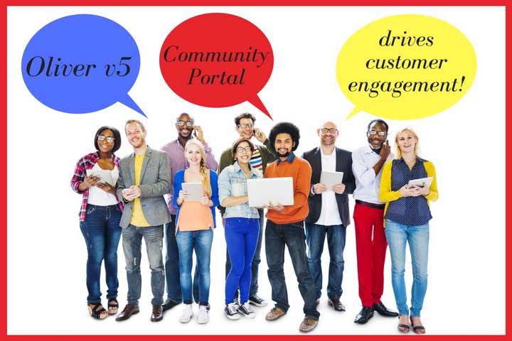 Oliver v5 Community Portal drives customer engagement!