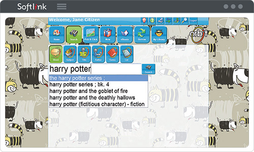Primary schools can choose the junior interface for Oliver v5 - Orbit