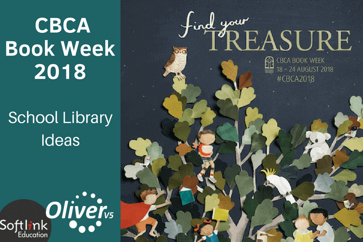 Book Week 2018 – Find your treasure in the school library with Oliver v5