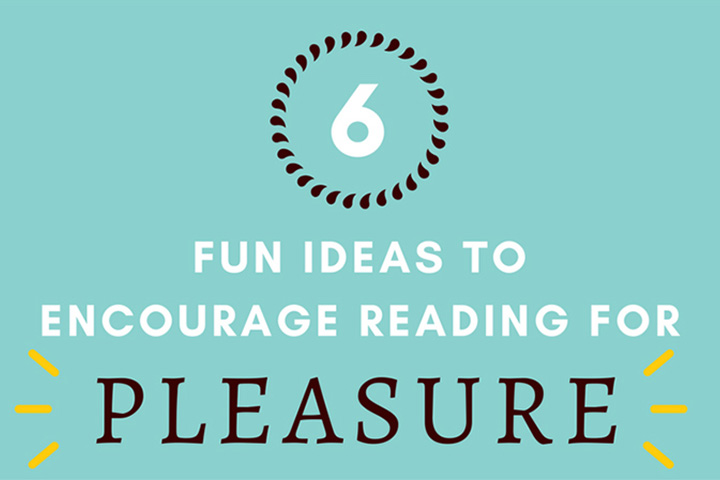 How to get kids reading for pleasure these school holidays