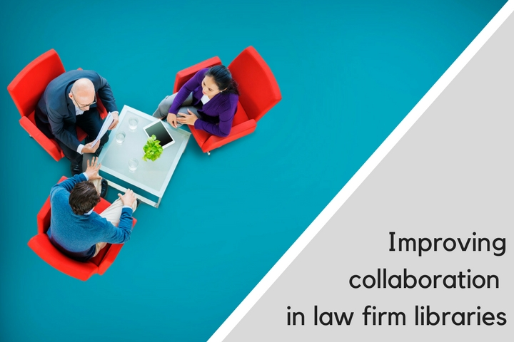 Improving collaboration in law firm libraries