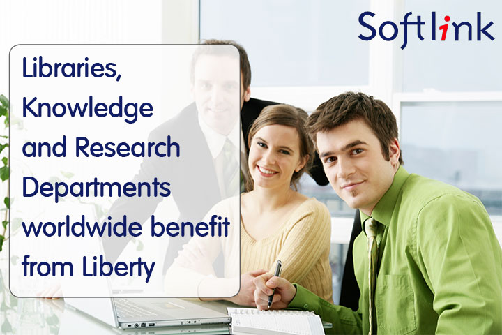 Libraries, Knowledge And Research Departments Worldwide Benefit From Liberty
