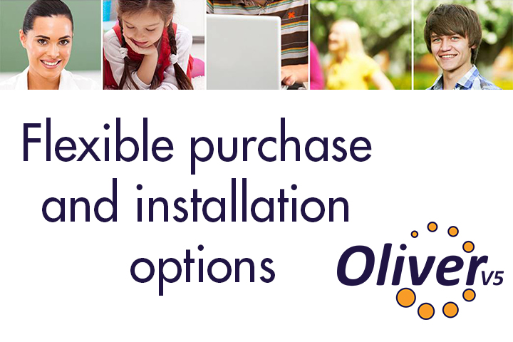 Oliver v5 Flexible Purchase And Installation Options