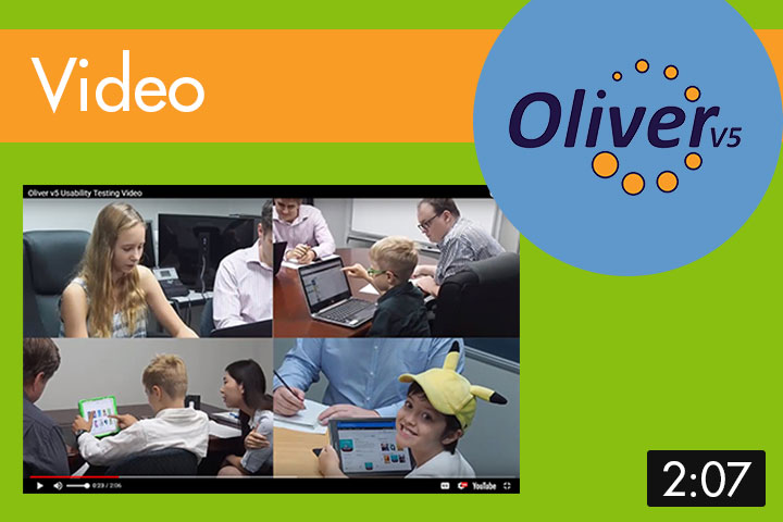 Oliver v5 usability testing video