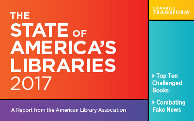 What is happening in American libraries in 2017?