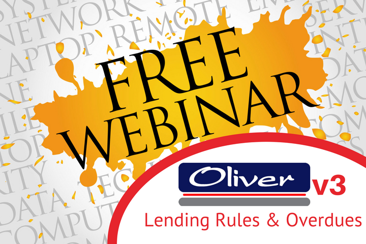 Lending Rules and Overdue Notices - Free webinar for Oliver v3 users