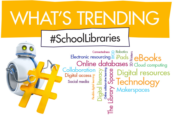 What's Trending #SchoolLibraries