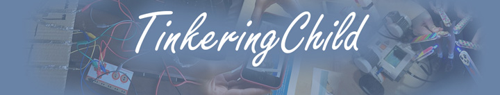 Tinkering Child blog logo