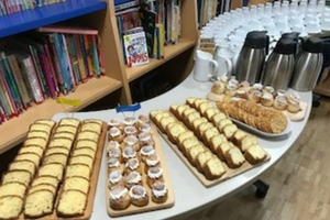 Books and baking sustain community life at the British School in Tokyo