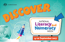 It's National Literacy and Numeracy Week!