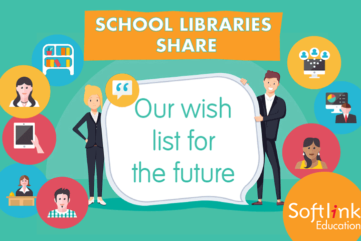 School libraries share a wish list for the future